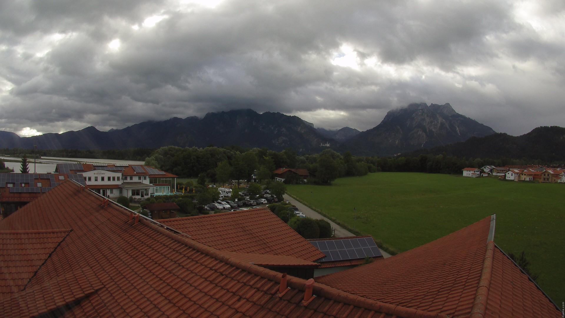 Hotel Sommer Webcam - aktueller Blick auf die Ostallgäuer Alpen